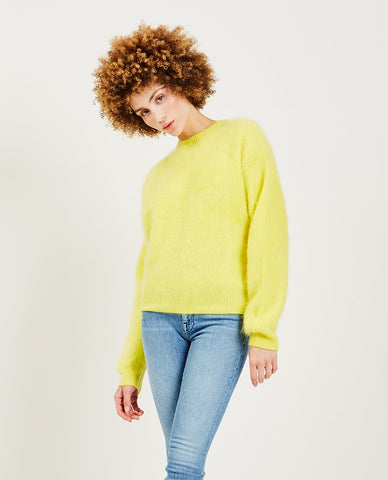TRIAA Cashmere Blushed Sweater Blue