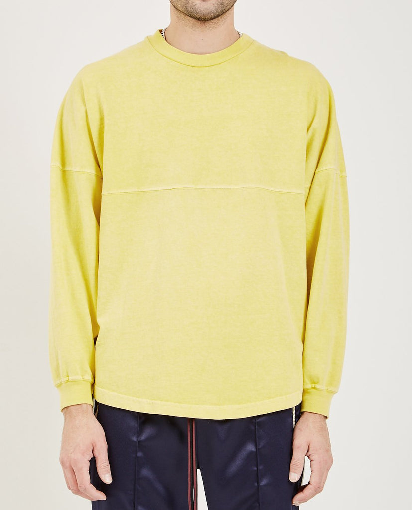 CENTER SEAM LONG SLEEVE TEE-NORWOOD CHAPTERS-American Rag Cie