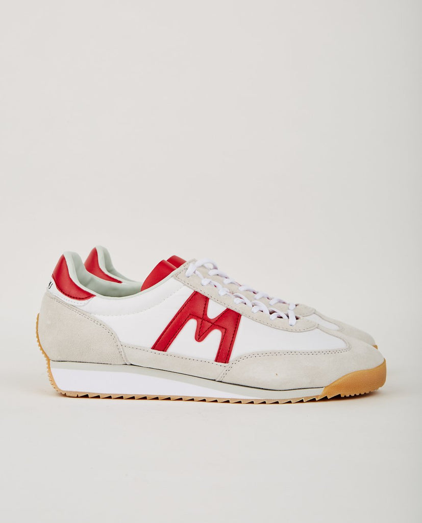 KARHU-CHAMPION AIR BRIGHT WHITE/RACING RED-Women Sneakers+ Trainers-{option1]
