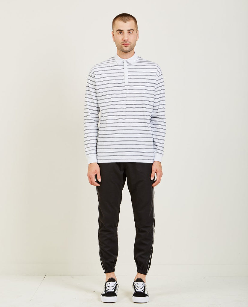 CHANNEL RUGBY LONG SLEEVE POLO-ZANEROBE-American Rag Cie