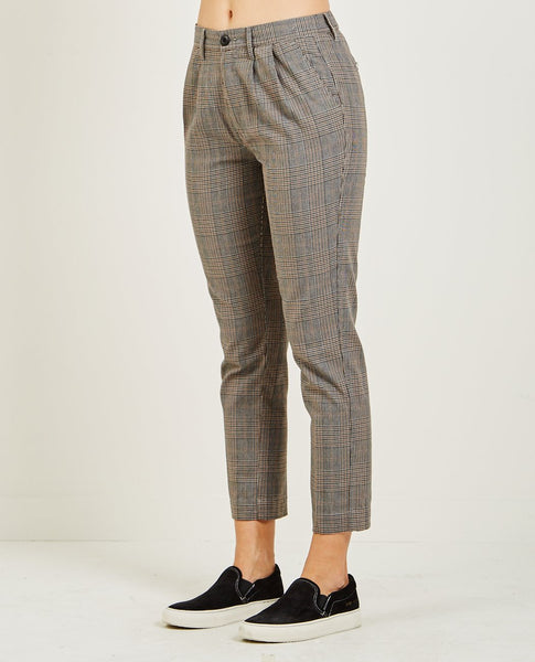 OBEY CHARLIE PLAID PANT
