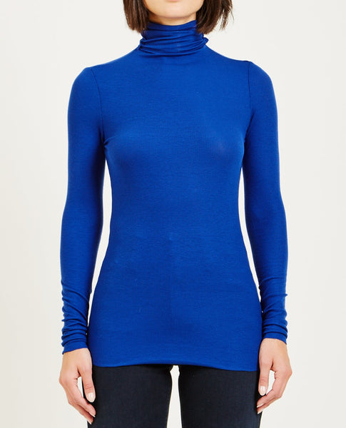 AG JEANS CHELS TURTLENECK EGYPTIAN BLUE
