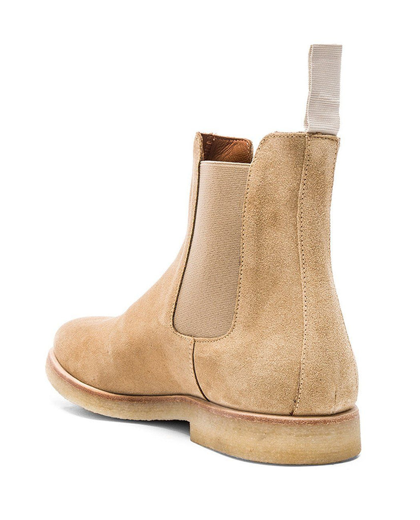 CHELSEA BOOT IN SUEDE-COMMON PROJECTS-American Rag Cie