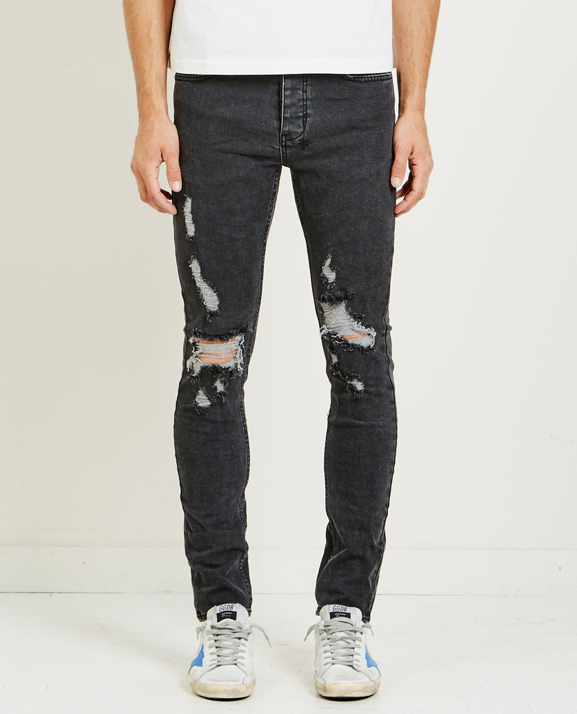 KSUBI CHITCH JEAN BLACK BLAZED