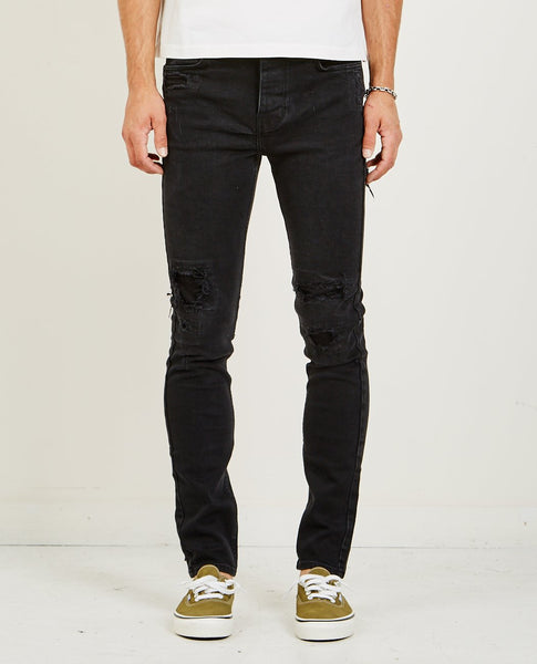 KSUBI CHITCH JEAN BONEYARD BLACK