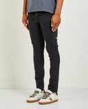 CHITCH JEAN DUSTED BLACK-KSUBI-American Rag Cie