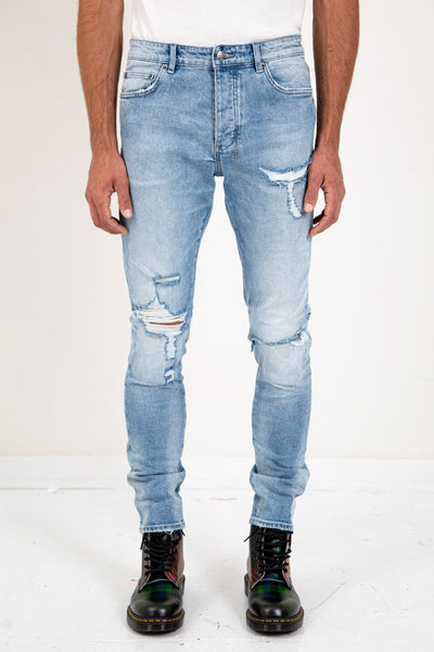KSUBI Chitch Jean Punk Blue Trashed