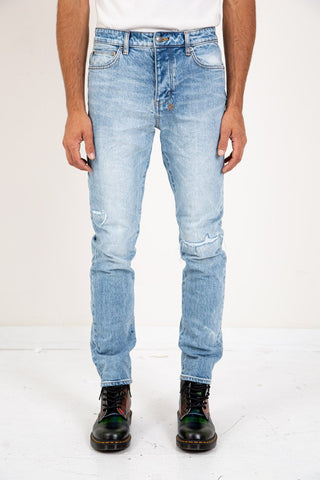 RRL SLIM NARROW BLACK SOOT WASH