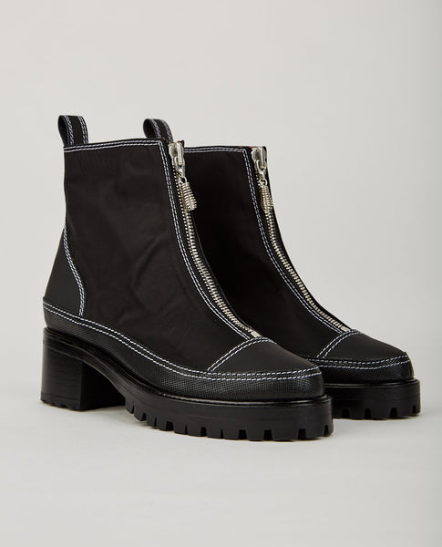 NICOLE SALDAÑA CHRIS ZIP UP BOOT