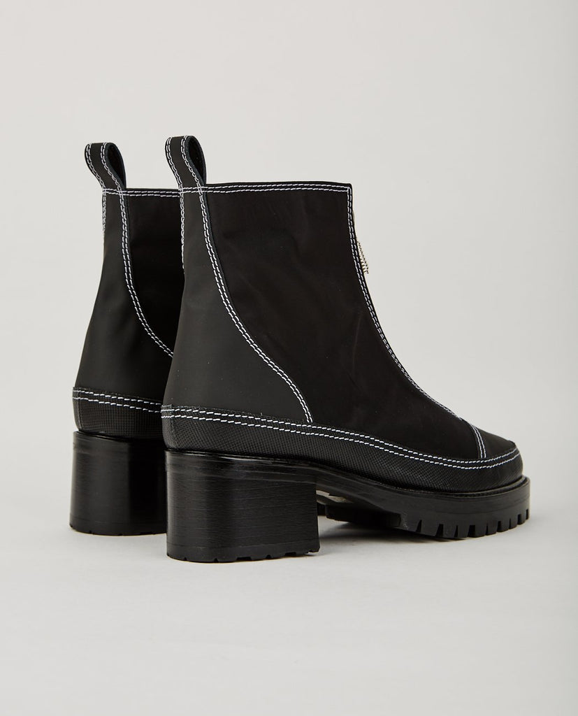 CHRIS ZIP UP BOOT-NICOLE SALDAÑA-American Rag Cie
