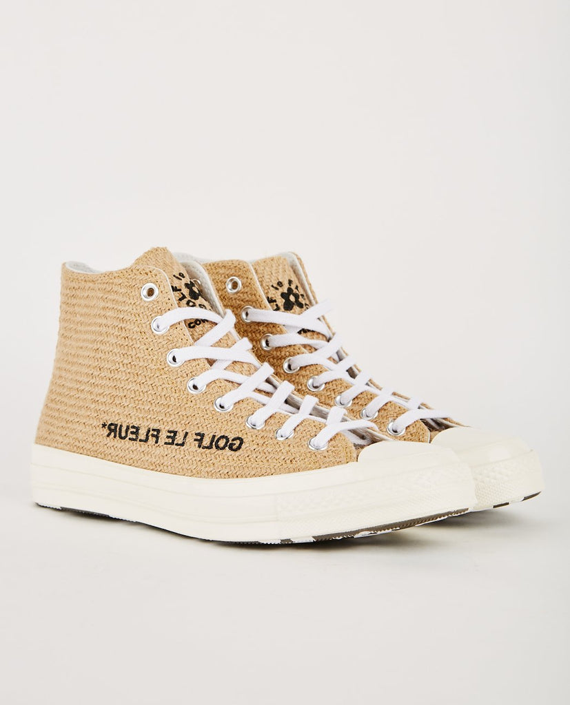 GOLF LE FLEUR* X CONVERSE-CHUCK TAYLOR '70 HI CURRY (MEN'S)-Men Sneakers + Trainers-{option1]