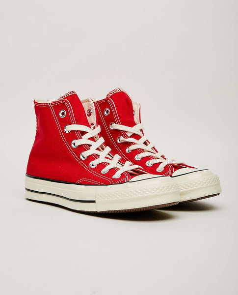 CONVERSE CHUCK TAYLOR ALL STAR '70 HIGH TOP ENAMEL RED