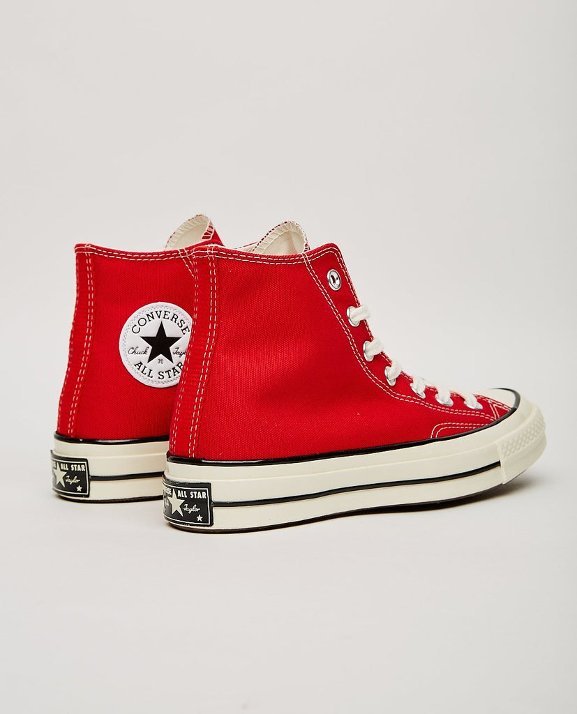 CHUCK TAYLOR ALL STAR '70 HIGH TOP ENAMEL RED-CONVERSE-American Rag Cie