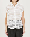 TRIAA-CIRCLE LACE TOP-Blouses-{option1]