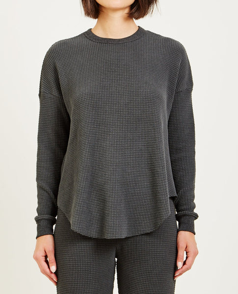 THE GREAT CIRCLE THERMAL WASHED BLACK