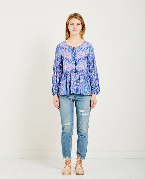 SPELL & THE GYPSY CITY LIGHTS BLOUSE