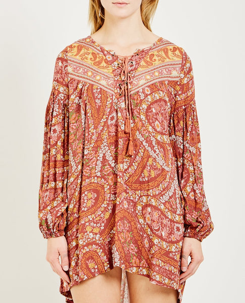 SPELL & THE GYPSY CITY LIGHTS TUNIC DRESS