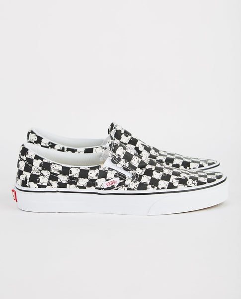VANS CLASSIC SLIP-ON CHECKERBOARD SNOOPY