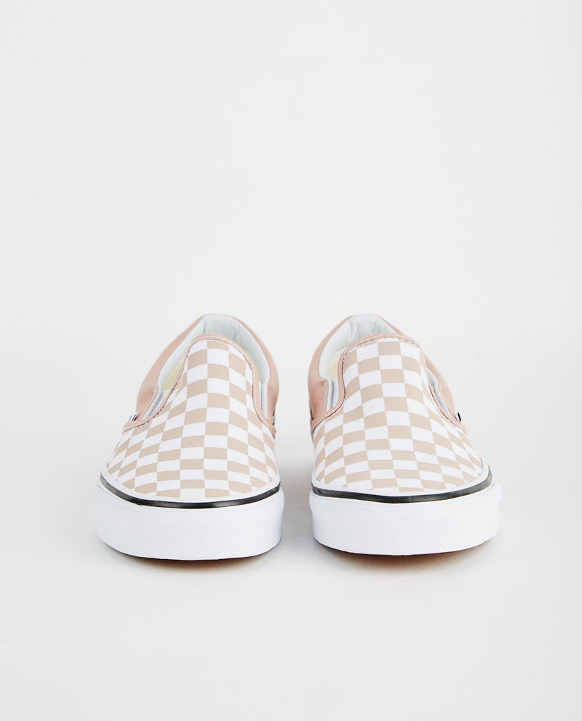 VANS-CLASSIC SLIP-ON CHECKERBOARD-Men Sneakers + Trainers-{option1]