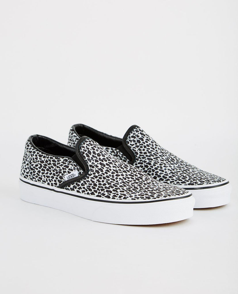 VANS-CLASSIC SLIP-ON (MINI LEOPARD)-Men Sneakers + Trainers-{option1]