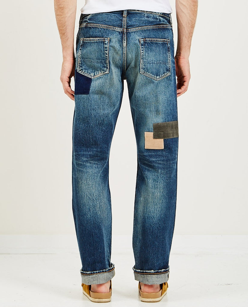 FDMTL-Classic Straight Denim-Men Relaxed-{option1]