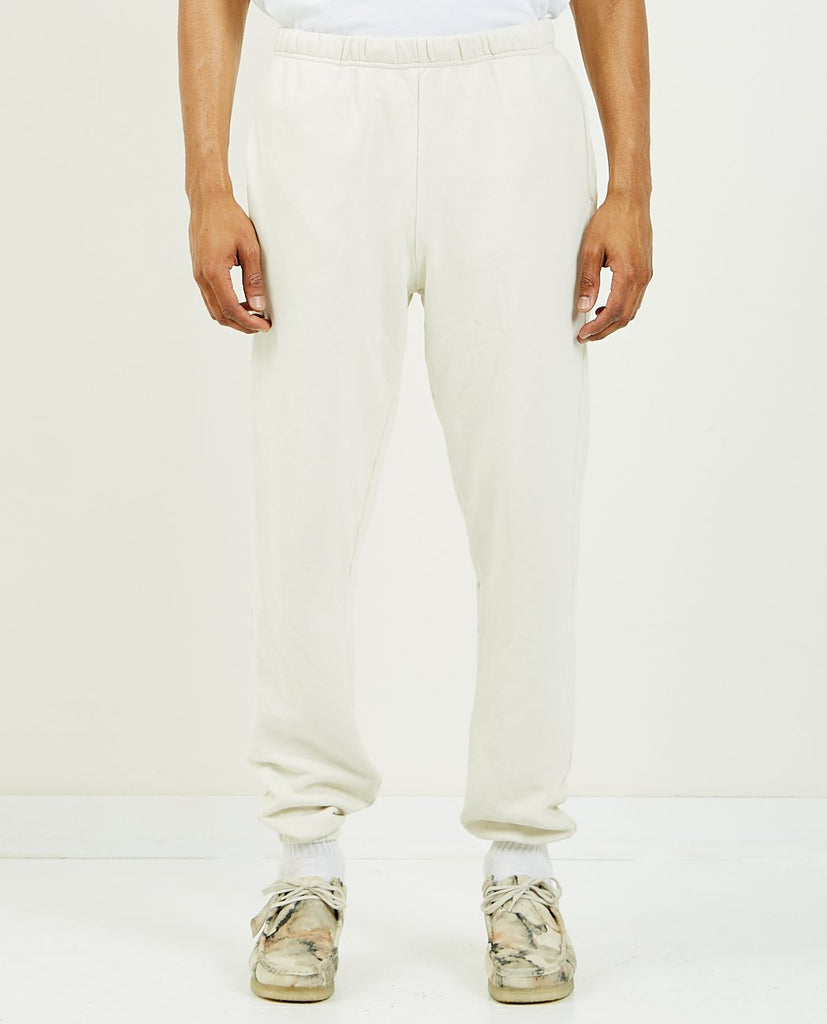 LES TIEN-Classic Sweatpant Ivory-Men Pants-{option1]