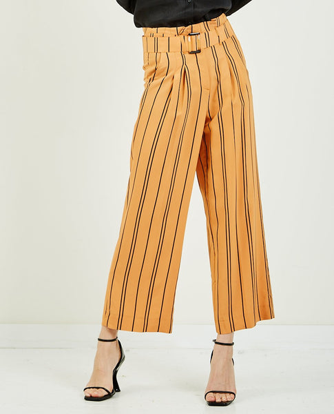 JUST FEMALE Claudia Stripe Pant