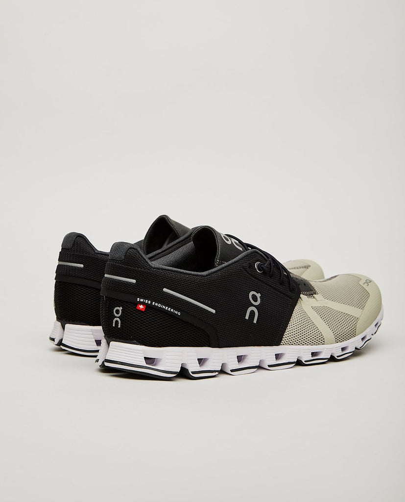 ON.-CLOUD 50|50 RUNNING SHOE BLACK/HAY-Men Sneakers + Trainers-{option1]