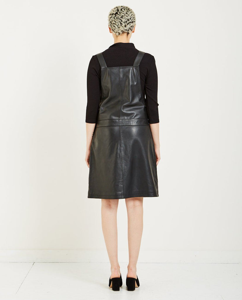 COBA LEATHER DRESS-JUST FEMALE-American Rag Cie