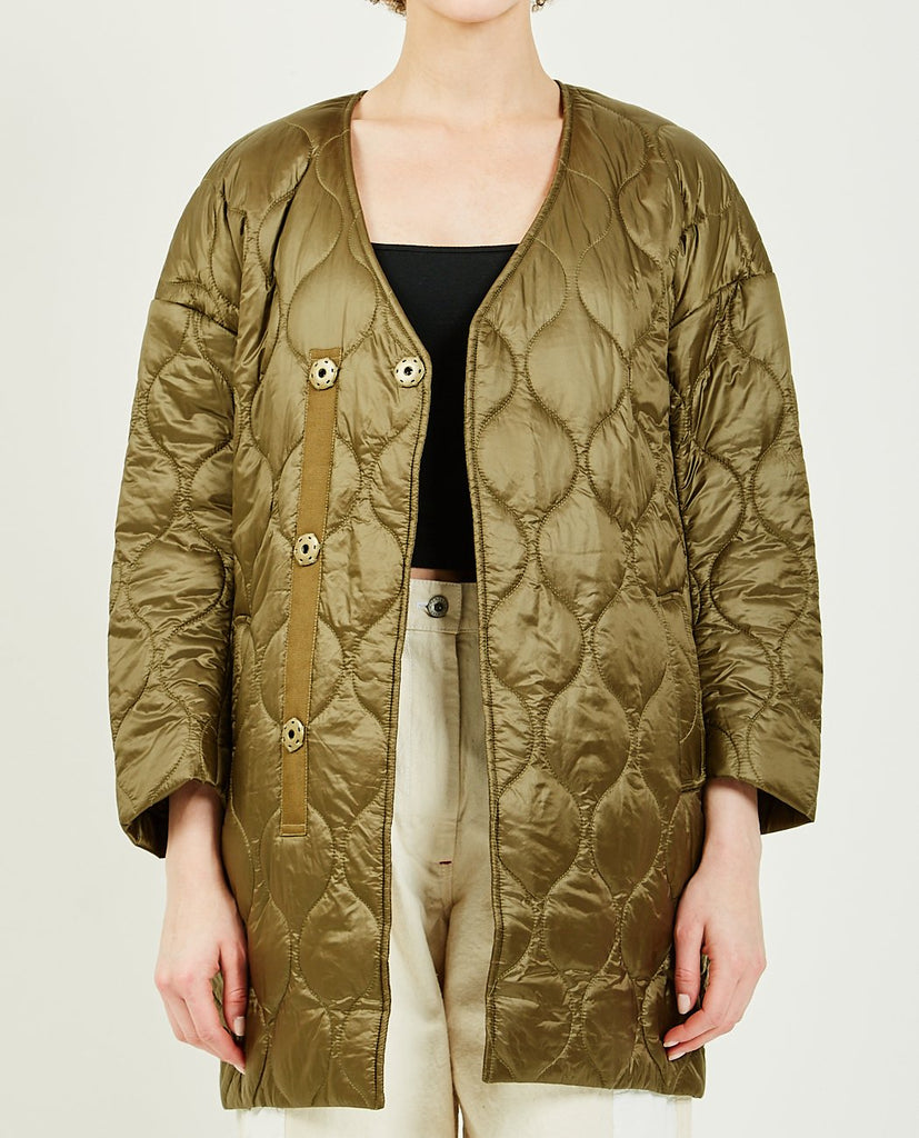 TRIAA-COCOON QUILTED COAT-Women Coats + Jackets-{option1]