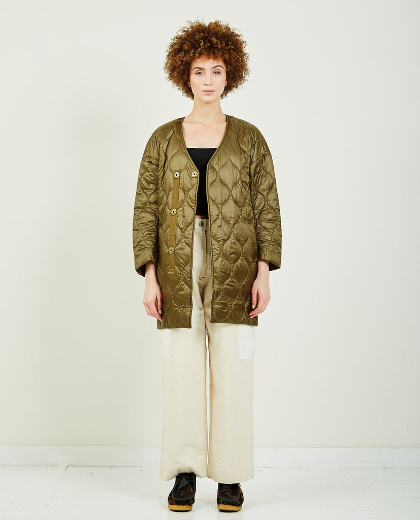 COCOON QUILTED COAT-TRIAA-American Rag Cie