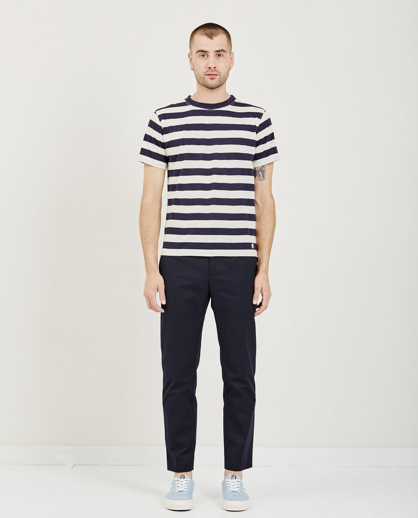 Col Rond Ml Heritage Tee-ARMOR LUX-American Rag Cie
