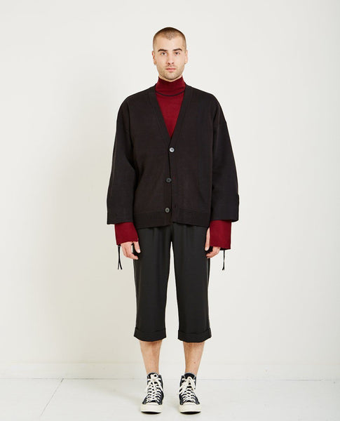 NE-SENSE COLI KNIT ZIP CARDIGAN