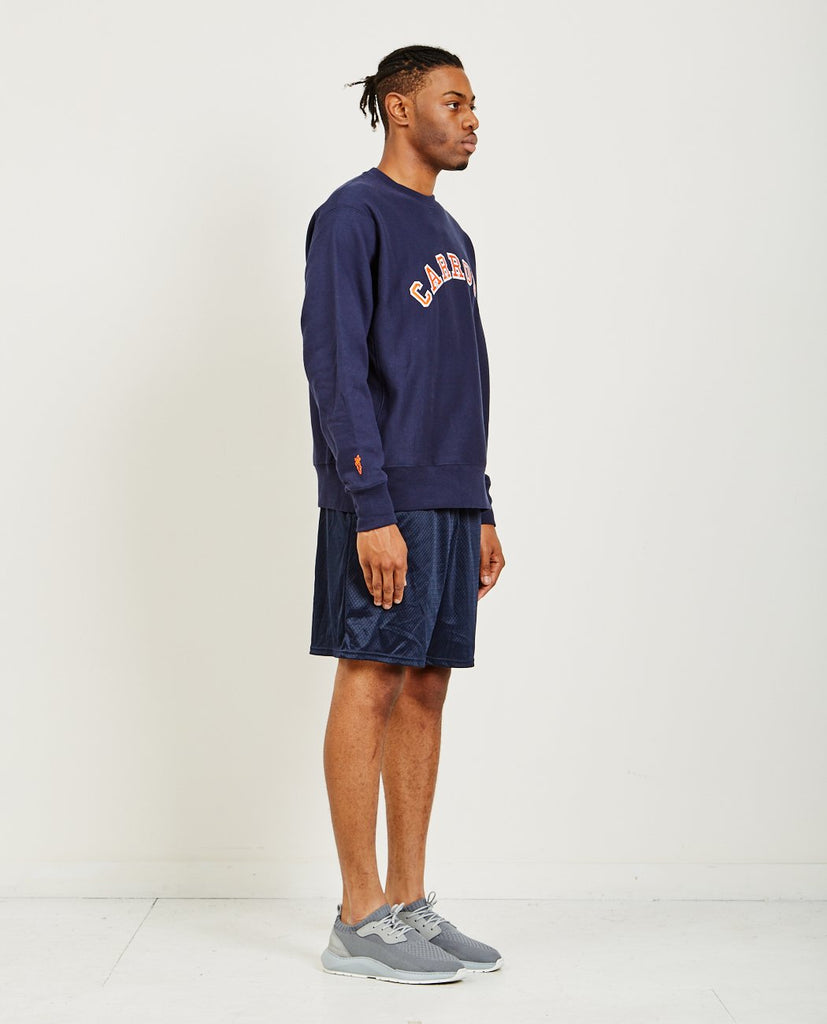 CARROTS BY ANWAR CARROTS-COLLEGIATE TACKLE TWILL CREWNECK-Men Sweaters + Sweatshirts-{option1]