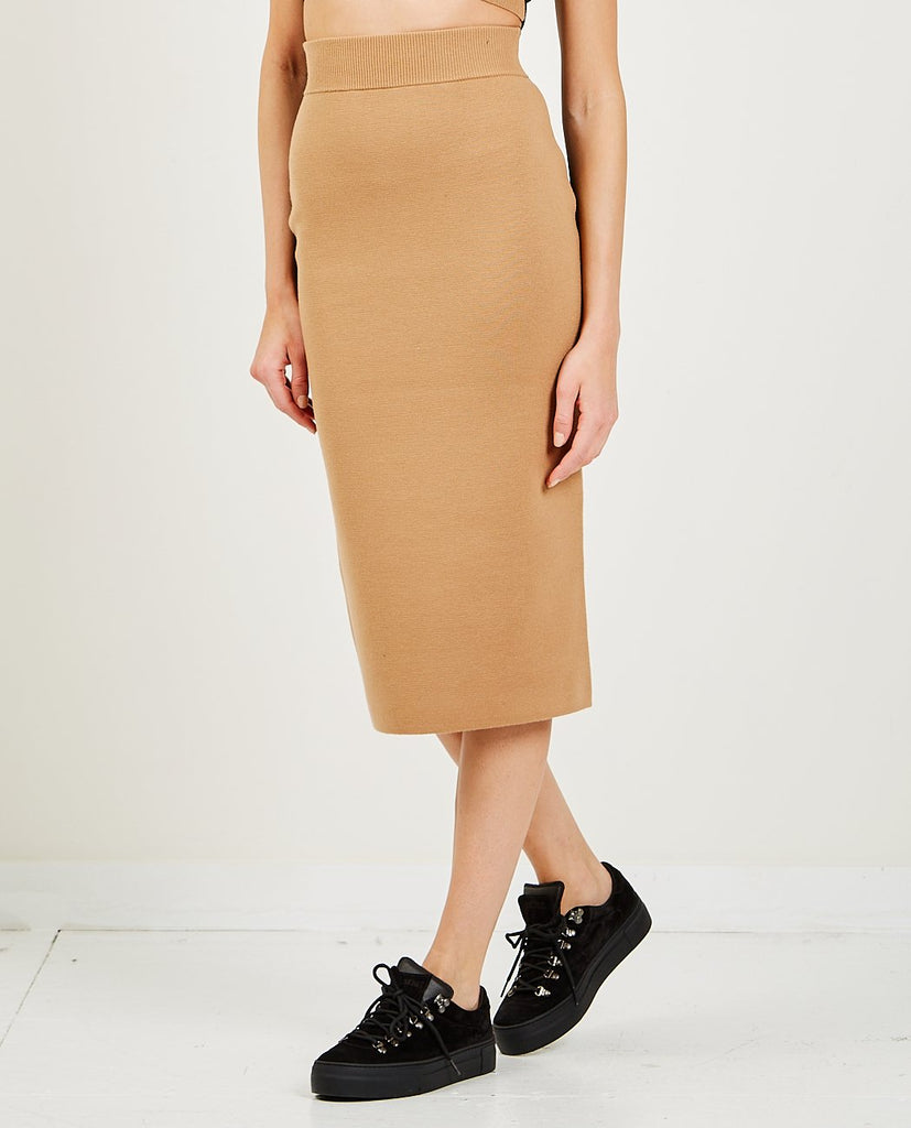 VICTOR GLEMAUD-Color Block Skirt-SKIRTS-{option1]