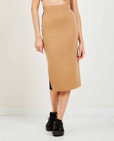VICTOR GLEMAUD Color Block Skirt