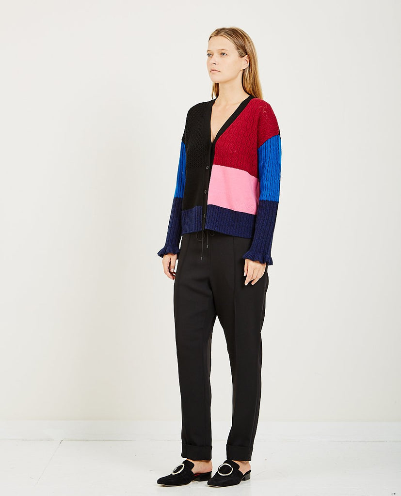 COLORBLOCK CASHMERE CARDIGAN-KENZO-American Rag Cie