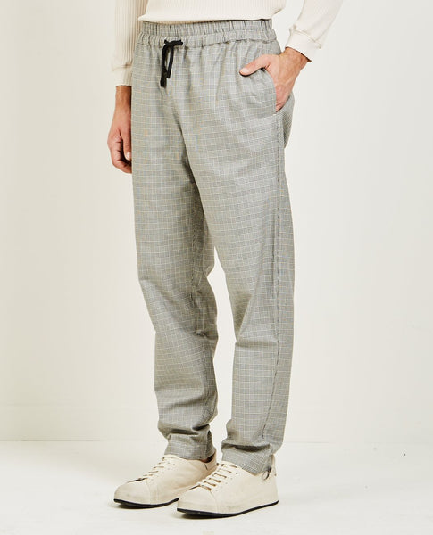 S.K. MANOR HILL COMA PANT GLEN CHECK