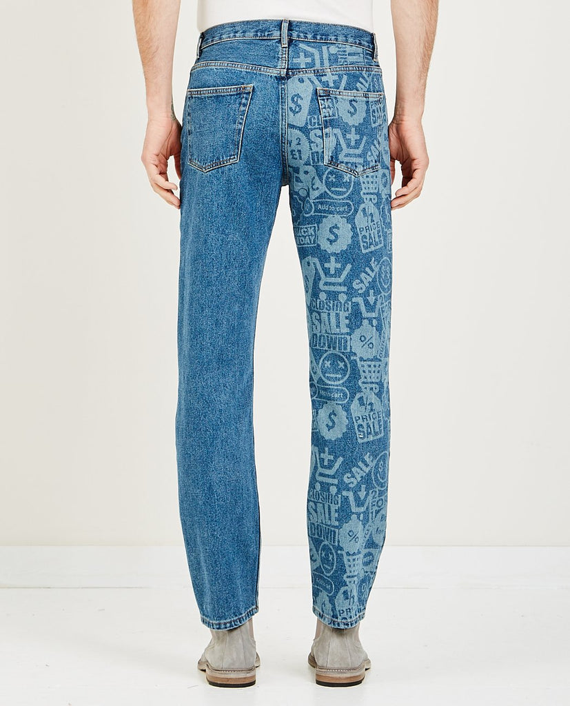 CMMN SWDN-CONNOR 5 POCKET JEANS-Men Straight-{option1]