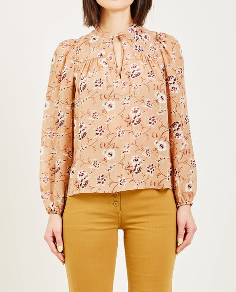 ULLA JOHNSON CONSTANCE BLOUSE CAFE