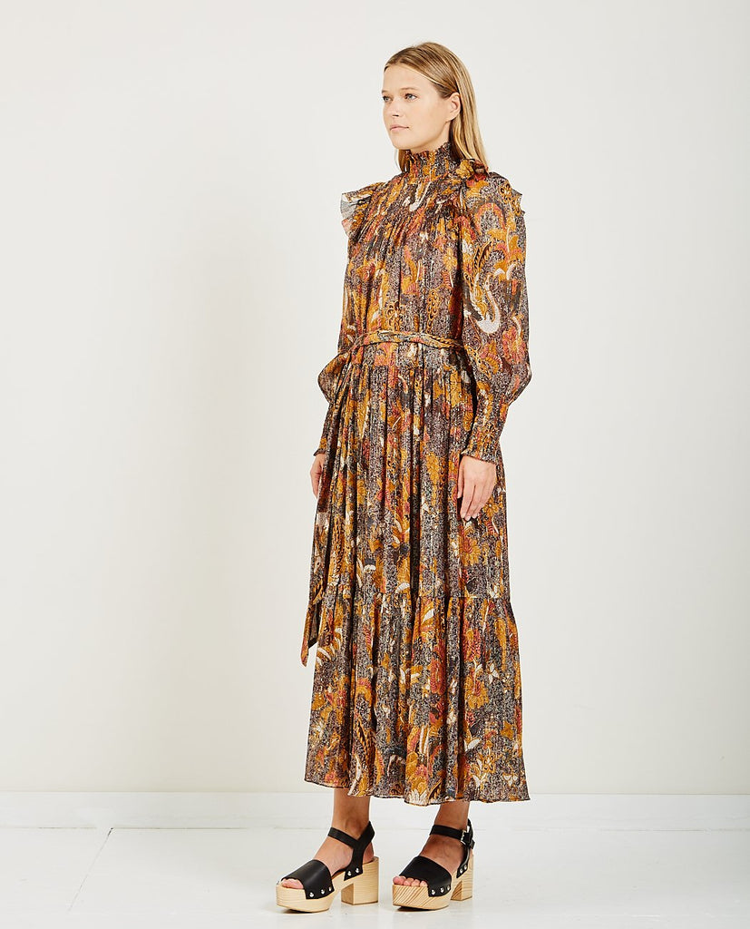 CONSTANTINE DRESS AMBER-ULLA JOHNSON-American Rag Cie