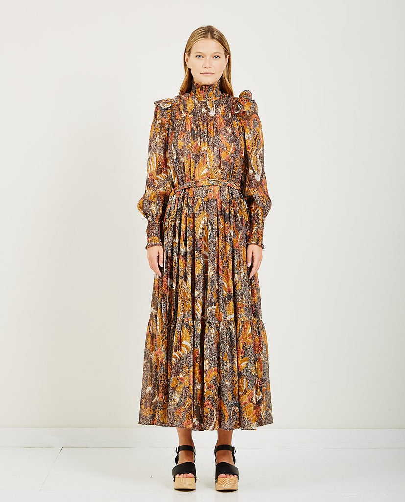 ULLA JOHNSON CONSTANTINE DRESS AMBER