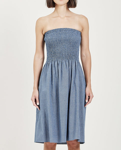 MUSED CONVERTIBLE DRESS
