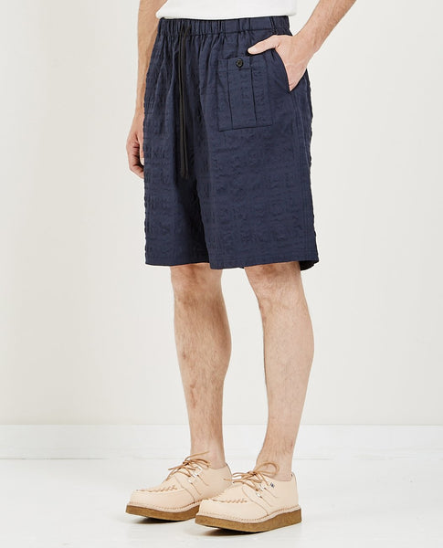S.K. MANOR HILL CONVOY SHORT NAVY BLUE PUCKER