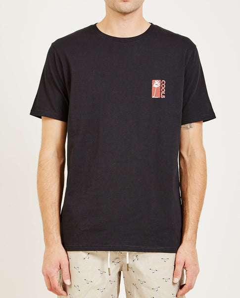 BARNEY COOLS COOL PALMS TEE BLACK