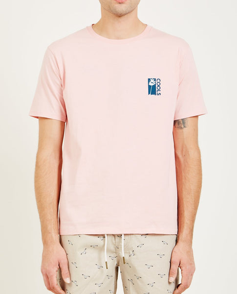 BARNEY COOLS COOL PALMS TEE PINK