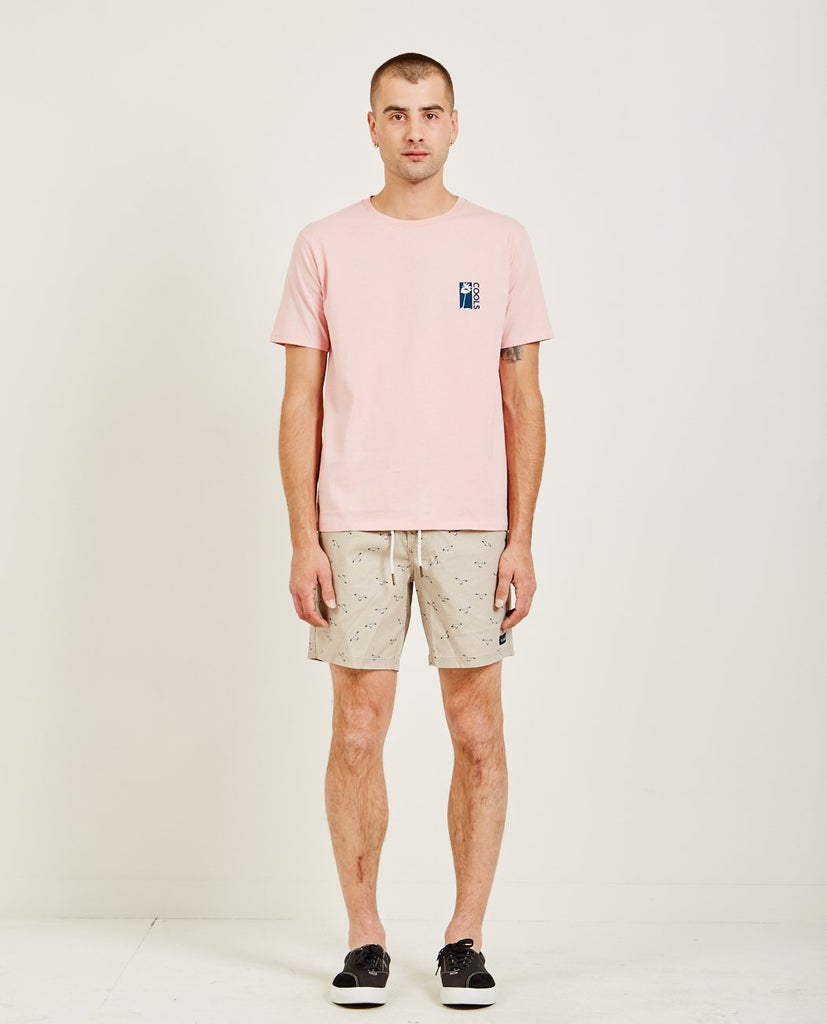 COOL PALMS TEE PINK-BARNEY COOLS-American Rag Cie