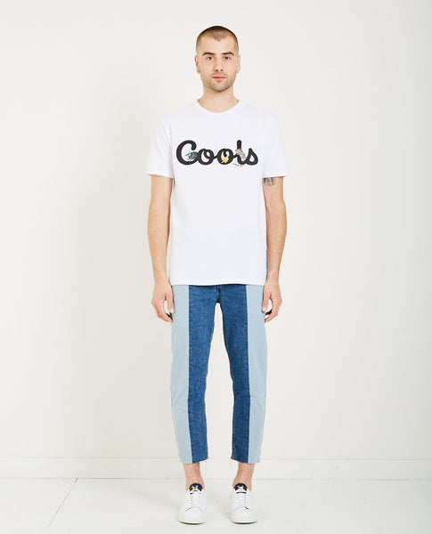 BARNEY COOLS COOLS TEE - WHITE ANIMALS