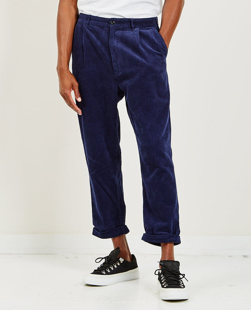 Cord Pleated Pant-ALEX MILL-American Rag Cie