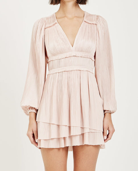 ULLA JOHNSON CORRINE DRESS- PEONY
